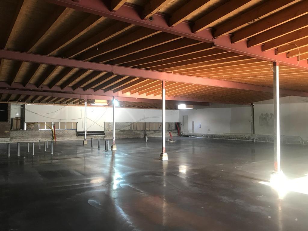 Betonwerken betonvloer