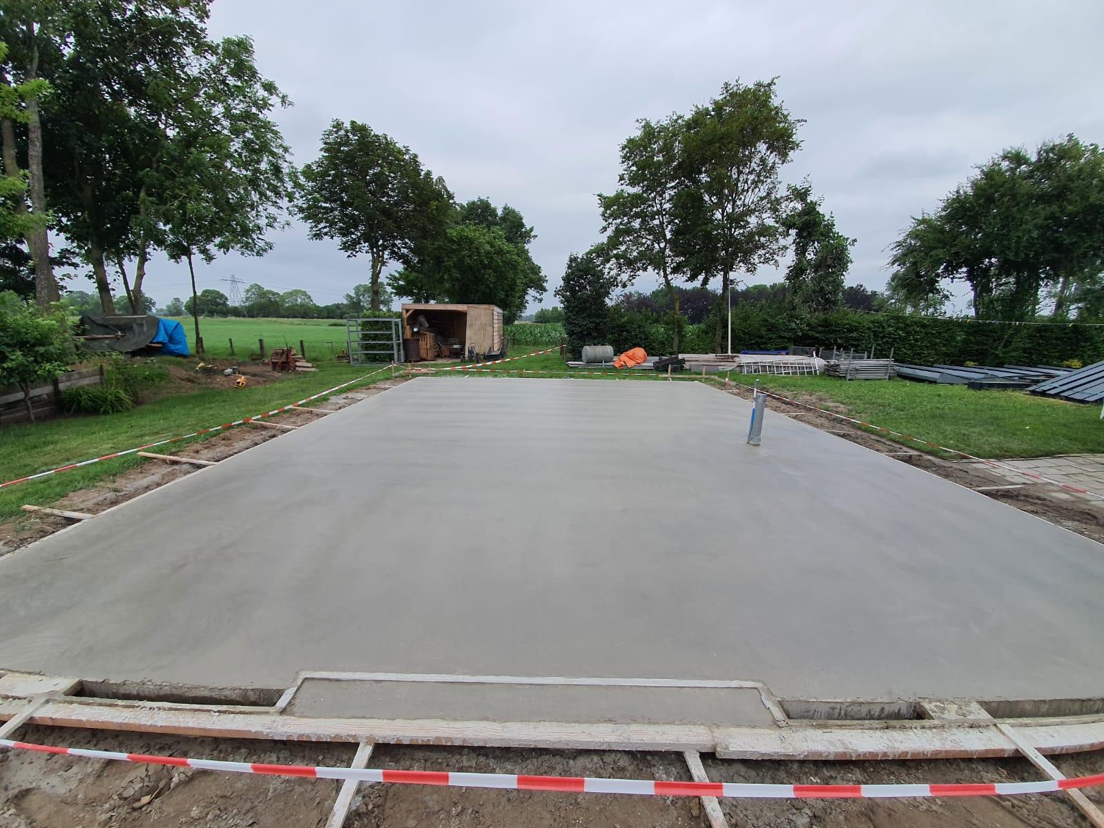 Garage vloer aanleg HB Betonwerken