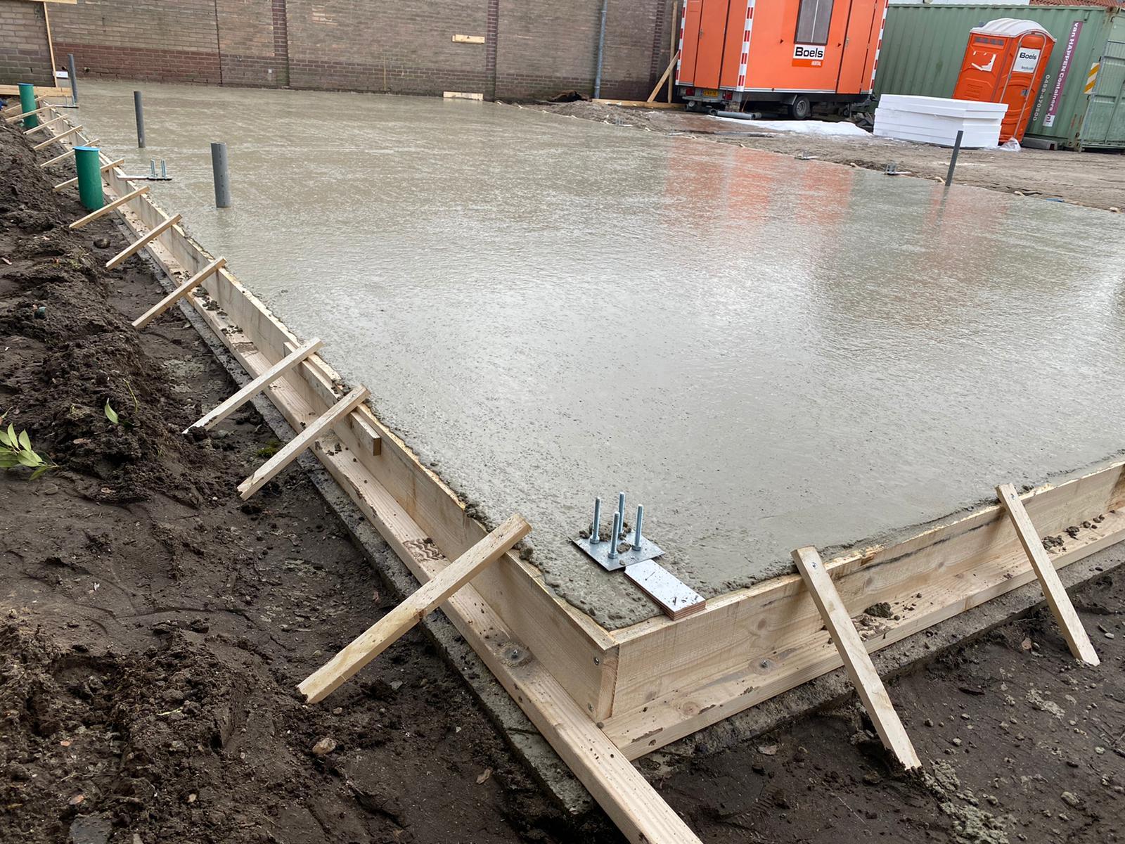 Ruwe betonvloer Zelhem