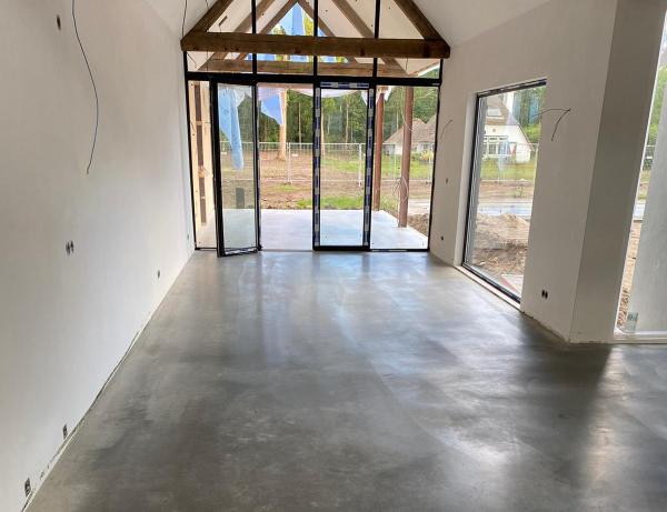 Betonvloer aanleggen