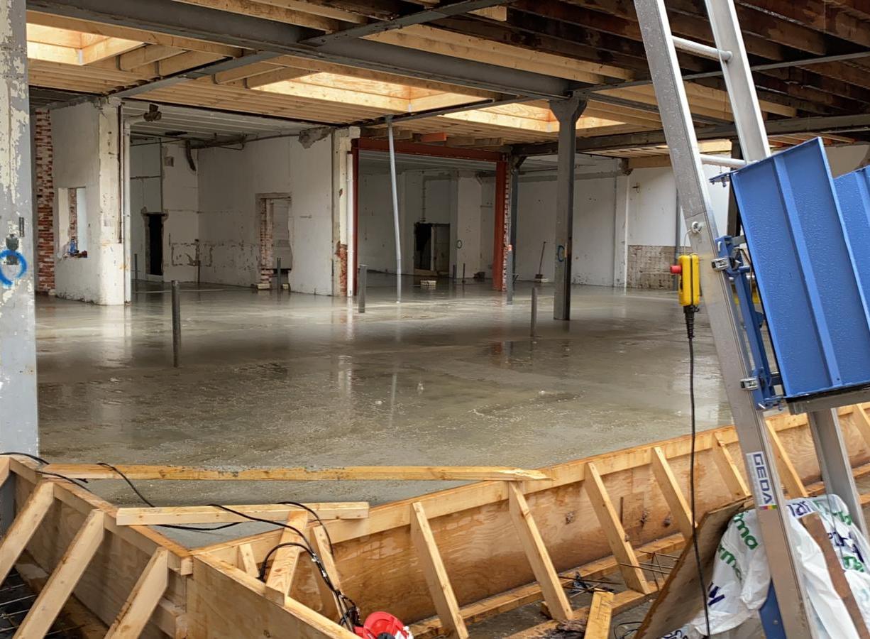 Betonvloer aanleggen Rotterdam